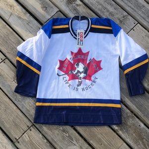 NWT CCM Hockey Jersey BOYS L/XL